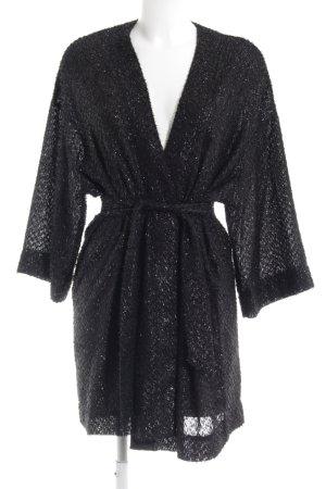 Kimono schwarz Elegant