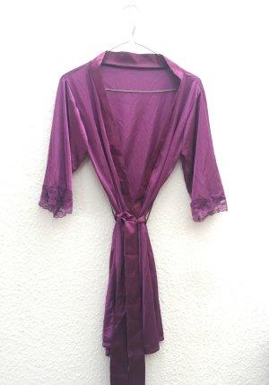 Kimono Spitze lila mit String Tanga Größe XS neu