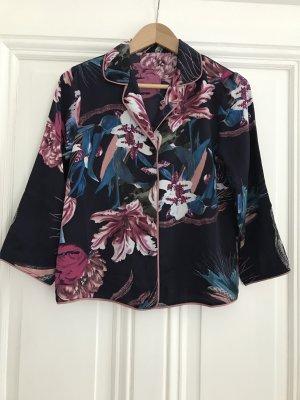 Cortefiel Kimono blu scuro