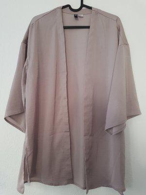 Kimono Taupe Cardigan altrosa