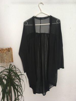 Kimono transparent schwarz urban outfitters one size