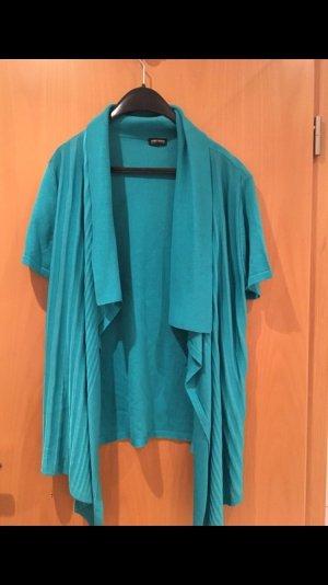 Gerry Weber Kimono blouse turkoois-cadet blauw