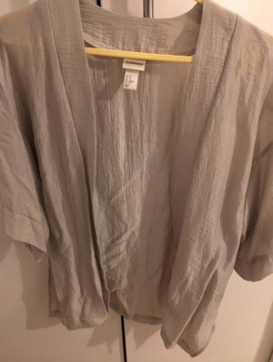 H&M Conscious Collection Kimono Blouse oatmeal viscose