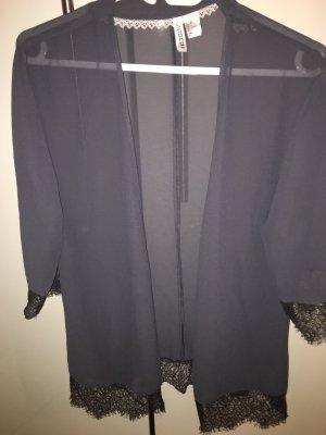 H&M Divided Kimono gris anthracite