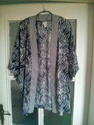 Kimono von H&M mit Zebramuster, elegant und cool