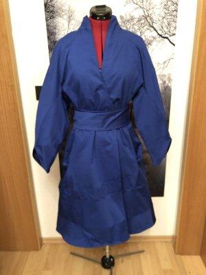 Abito cappotto blu