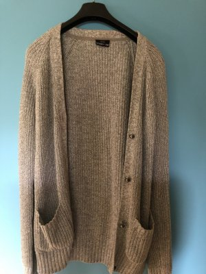 Takko Knitted Vest gold-colored-beige