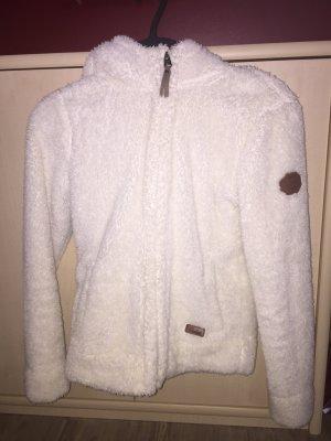 Protest Fur Jacket white