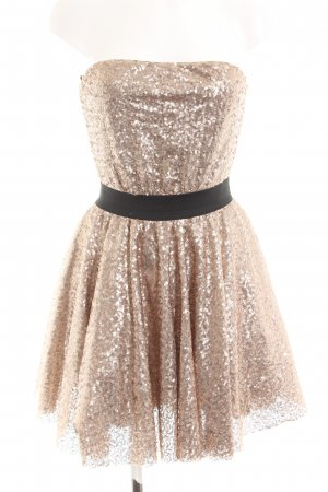 King Kong Ball Dress gold-colored-black casual look