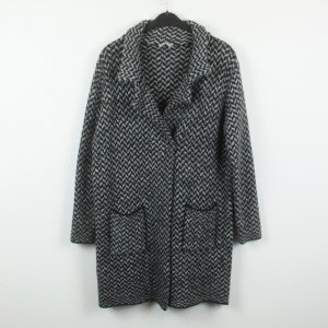 King Kong Knitted Coat black-anthracite mixture fibre