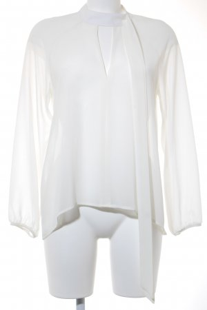 King Kong Transparenz-Bluse creme Romantik-Look