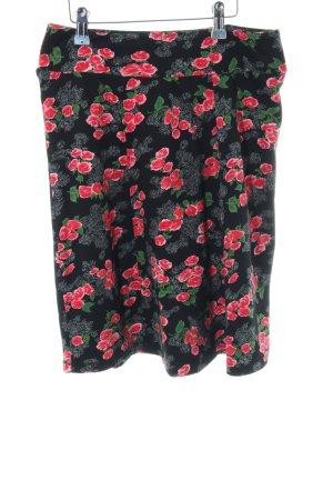King louie Skater Skirt flower pattern casual look