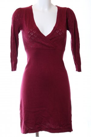 King louie Knitted Dress red casual look
