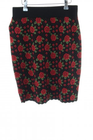 King louie Knitted Skirt flower pattern '90s style