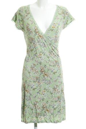 King louie Robe portefeuille motif de fleur style décontracté