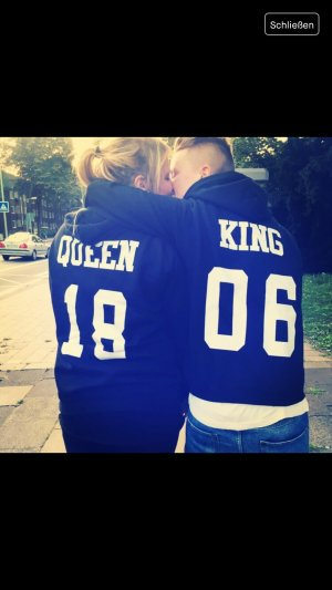 King &' Queen Pullover. Woman L - Man S