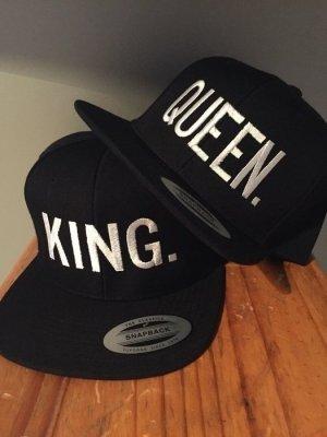 King&Queen Snapback Neu Schwarz