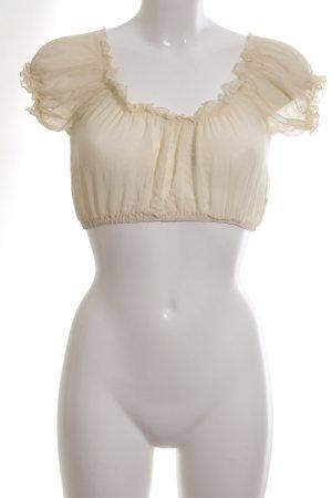 Kinga Mathe Carmen Blouse natural white casual look