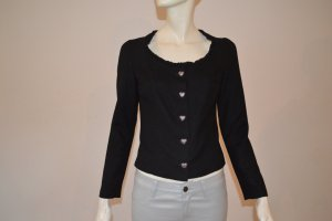 Kinga Mathe Short Jacket black cotton