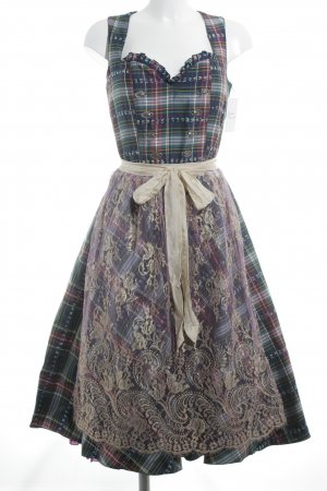 Kinga Mathe Dirndl florales Muster Country-Look