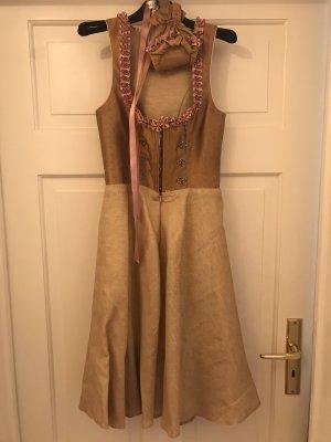Kinga Mathe Vestido Dirndl color oro-rosa