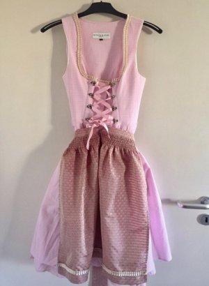 Kinga Mathe Dirndl rosa Designer NP 599€