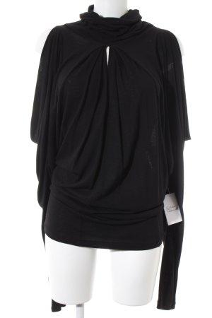 Kinga Mathe Oversized Pullover schwarz Boho-Look