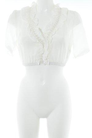 Kinga Mathe Folkloristische blouse wolwit-room elegant