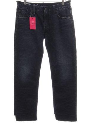 Kings of Indigo Boyfriend jeans donkerblauw stedelijke stijl