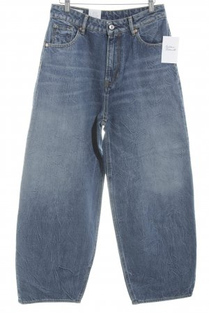 Kings of Indigo Boyfriend Jeans steel blue-dark blue street-fashion look
