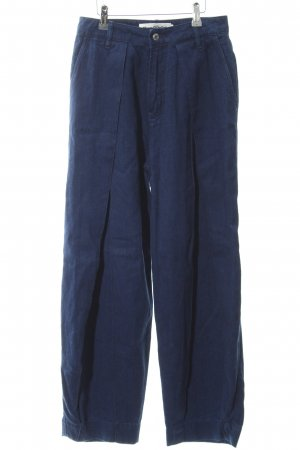 "Kings of Indigo Denim Flares ""LEILA PLEAT"" blue"