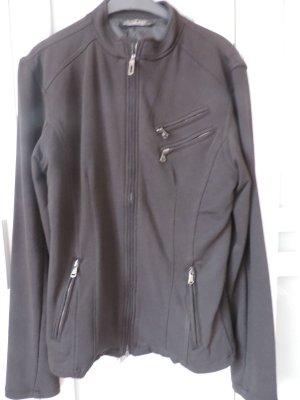 Kingz Design Blazer Sweatjacke mit mega Print Rücken Gr. 38/40