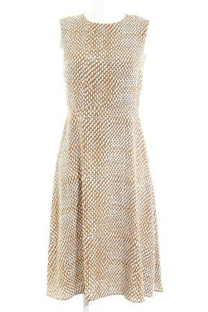 Kiomi A-Linien Kleid abstraktes Muster Casual-Look