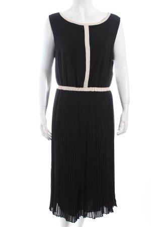 Kiomi Abendkleid schwarz-wollweiß Eleganz-Look