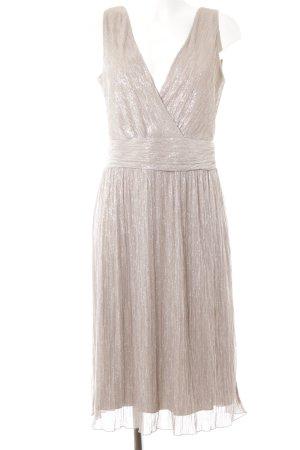 Kiomi Abendkleid silberfarben-altrosa Elegant