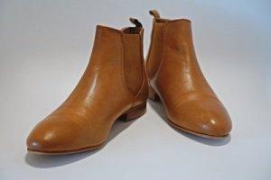 Kiomi Ankle Boots, braun /cognac, 1x getragen