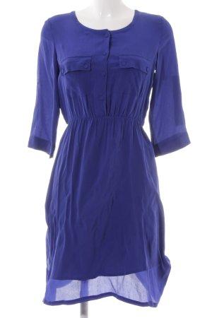 Kiomi Blusenkleid blau Casual-Look