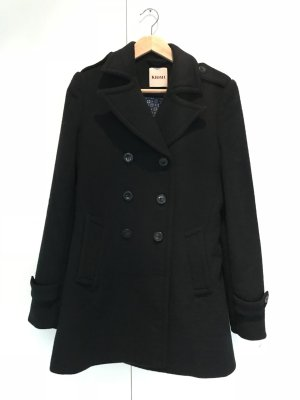 Kiomi Heavy Pea Coat blue-dark blue