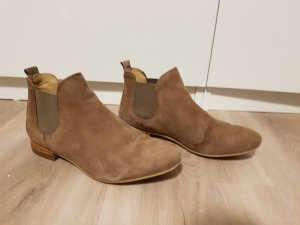 Kiomi Chelsea Boots grey brown-light brown