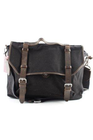 Kiomi College Bag black-dark brown simple style
