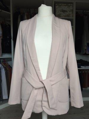 KIOMI Damen Jacke Blazer in rosa/puder mit Gürtel, Gr. 40