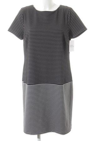 Kiomi Etuikleid schwarz-weiß Casual-Look