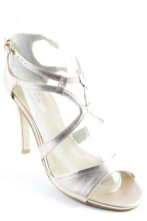 Kiomi High Heel Sandaletten roségoldfarben Elegant