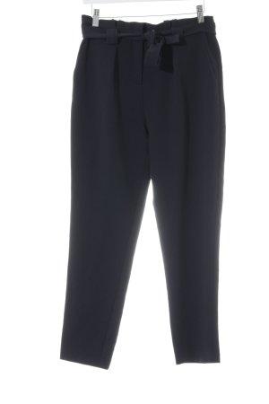 Kiomi Pantalon taille haute noir style d'affaires