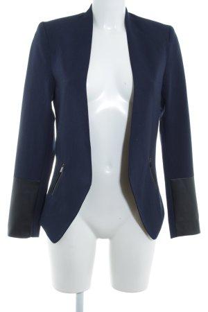 Kiomi Jerseyblazer dunkelblau Business-Look