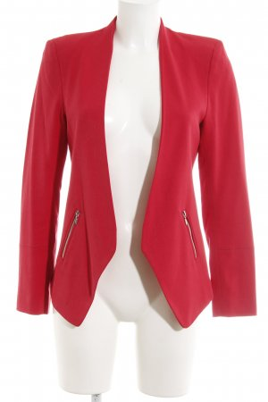Kiomi Jerseyblazer rot Casual-Look