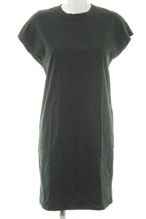Kiomi Jerseykleid waldgrün schlichter Stil