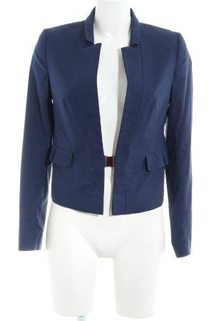 Kiomi Kurz-Blazer blau Business-Look