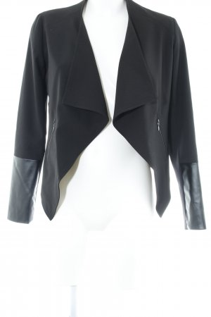 Kiomi Kurz-Blazer schwarz Business-Look