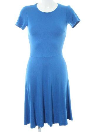 Kiomi Kurzarmkleid blau Casual-Look
